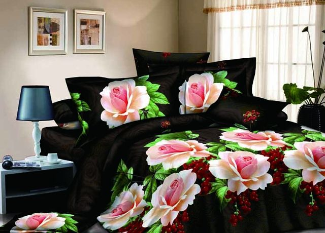 bettw sche rosa rosen d comeco site de vid o de. Black Bedroom Furniture Sets. Home Design Ideas